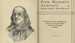 A Penny Saved - Poor Richard's Almanack